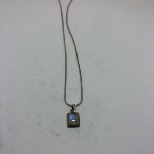 Jewelry - Sterling silver moonstone necklace